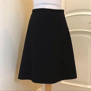 NWOT Forever 21 black career a-line skirt